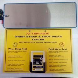 Wrist Strap And Footwear Tester