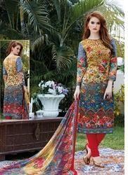 Cotton Printed Ladies Suit