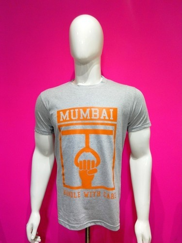 Mens Cotton Seasonal T Shirt