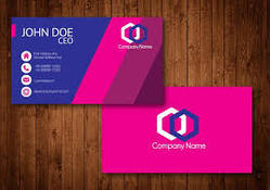 Business Cards / Visiting Cards - Synthetic Double Side
