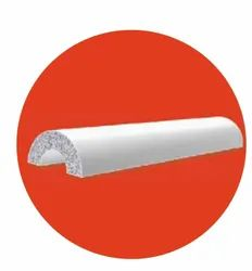 HYSIL Calcium Silicate Pipe Sections - Half Round