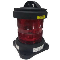 All Round Red Navigation Light Signal Tire