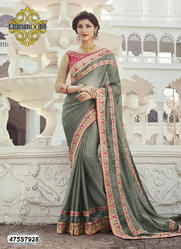 Embroidery Fancy Saree