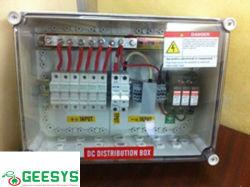 Solar Pv Substation Solar Array Junction Box