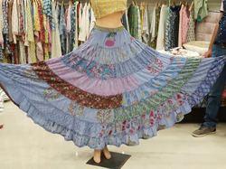 Designer Skirt and Plazo