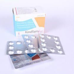 Aceclofenac, Paracetamol & Thiocolchicoside Tablet