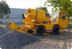 Self Loading Concrete Mixer