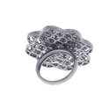 Ruby Gemstone Designer Flower Ring
