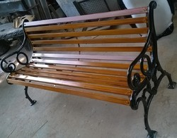 Wrought Iron Garden Benches