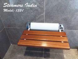 Folding Shower Wooden Seat Model No 1551