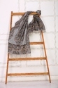 Embroidered Scarf Shawl
