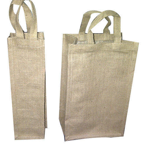 Jute Wine Bottle Bag