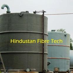 Fibreglass CIP Tank for Water Treatment Plants