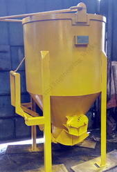 Center Discharge Spur Mechanism Concrete Bucket