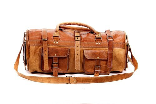 Leather Bag - Handmade Leather Military Duffel Bag Manufacturer from ... a21a2e06292f4