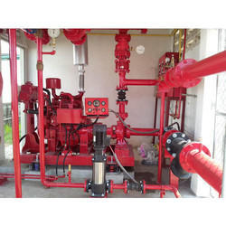 Installation Of Fire Fighting System