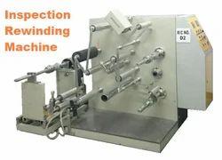 Inspection Doctoring Rewinding Machine