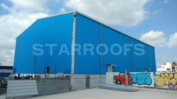 Factory Shed Roofing Work