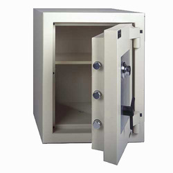 Steel security safe