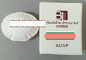White Hotel Bath Soap