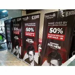 Promotional Display Roll Up Standee