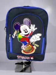 School Customised Backpack Mickey Printed