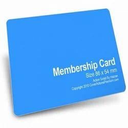 PVC Membership Cards. PVC Membership Cards