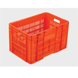 Plastic Crates-Orange
