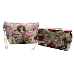 Printed Makeup Pouch