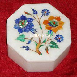 Marble Semi Precious Stone Box