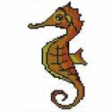 Seahorse Glass Mosaics