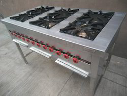 Six Burner Cooking Range