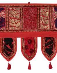Embroidered Cotton Door Hangings Toran Bandanwar