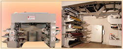 Eight Colour Flexo Roll to Roll Printing Machine