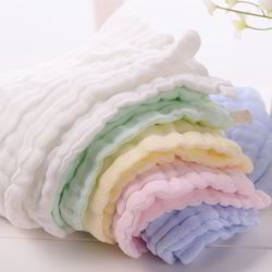 Organic Cotton Baby Blankets in Rich Soft Layers of Cloths
