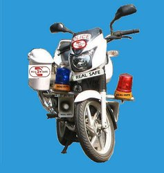 Police Motor Cycle Revolving Lights