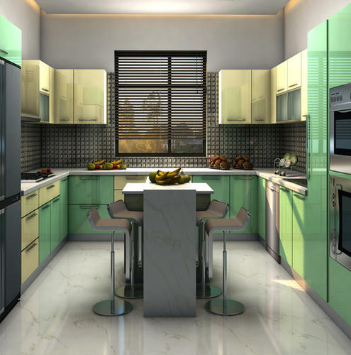 Modular Kitchen Size 7 X 9 Feet Rs 200000 Unit Myllar A Brand