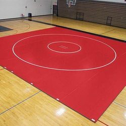 Red Sports Flooring