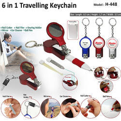 6 In 1 Key Chain