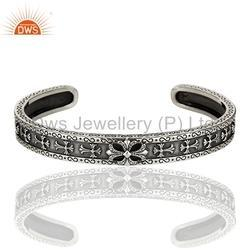 Antique Design 925 Silver Cuff Bracelet