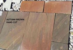 Autumn Brown Sandstone Handcut Tiles