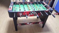 Graphic Red Soccer Table