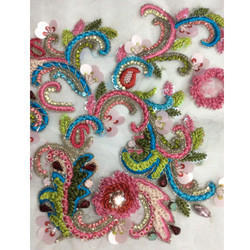 Embroidery Resham Work