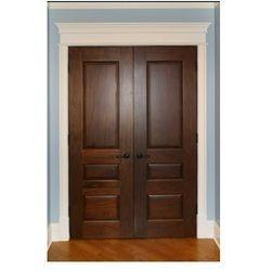 Wooden Double Fire Door