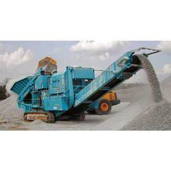 Mobile Stone Crushing Machine