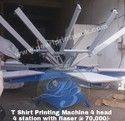 T- Shirt screen printing Machine