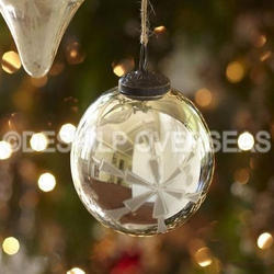Luster Christmas Ornaments