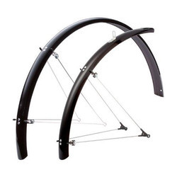 Polished Bicycle Mudguards