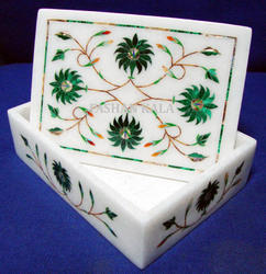 Marble Rectangle Boxes