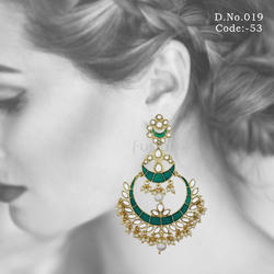 Designer Chandbali Earrings
